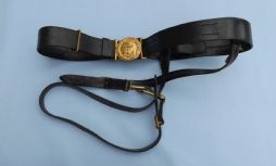 British WW1/2 Royal Navy Officers Belt/ Sword Hangers